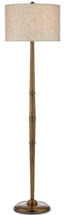 Harrelson Brass Floor Lamp