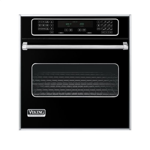 """Black 27"""" Single Electric Touch Control Select Oven - VESO (27"""" Wide Single Electric Touch Control Select Oven)"""