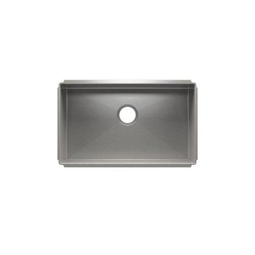 """J7® 003922 - undermount stainless steel Kitchen sink , 27"""" × 16"""" × 10"""""""