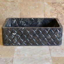 Diamond Quilted Farmhouse Sink