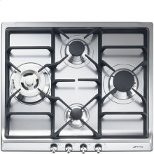 """60CM (approx. 24"""") """"Classic"""" Gas Cooktop Stainless Steel"""