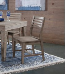 Aspen Ladderback Chair Gray Wash Product Image