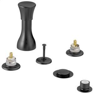 Matte Black Bidet Faucet - Less Handles Product Image