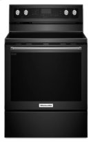 30-Inch 5-Element Electric Convection Range - Black Product Image