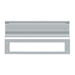 Mail Slot, HD - Brushed Chrome