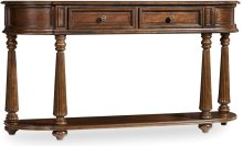 Leesburg Demilune Hall Console