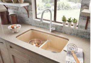 Blanco Valea® Equal Double Bowl With Low-divide - Metallic Gray