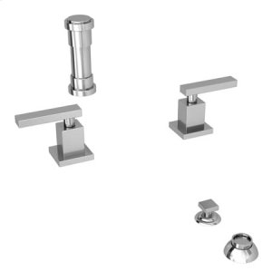 Polished Nickel - Natural Bidet Set