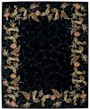 Julian Jl46 Blk Rectangle Rug 7'6'' X 9'6''
