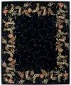 JULIAN JL46 BLK RECTANGLE RUG 7'6'' x 9'6''