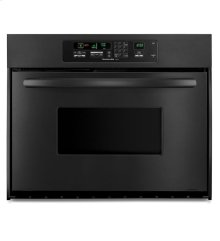 KitchenAid® 24-Inch Convection Single Wall Oven, Architect® Series II Handle - Black