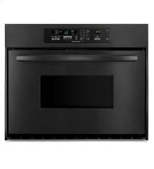 KitchenAid® 24-Inch Convection Single Wall Oven, Architect® Series II Handle - Black