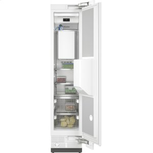 MieleF 2461 Vi - MasterCool™ freezer Integrated IceMaker features separate water and ice dispensers.