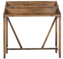 Wyatt Writing Desk W/pull Out - Oak