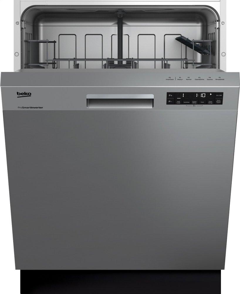 BekoFront Control, Pocket Handle Dishwasher, 5 Programs, 48 Dba