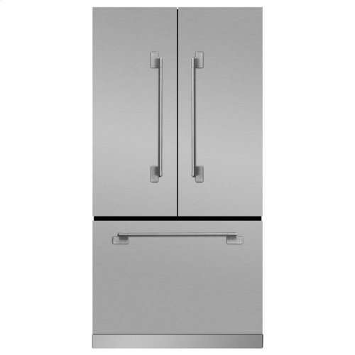 Elise French Door Counter-Depth Refrigerator - Elise French Door Counter-Depth Refrigerator - Matte Black