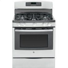 "GE® 30"" Free-Standing Gas Convection Range (This is a Stock Photo, actual unit (s) appearance may contain cosmetic blemishes.  Please call store if you would like actual pictures).  This unit carries our 6 month warranty, MANUFACTURER WARRANTY and REBATE NOT VALID with this item. ISI32824"