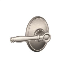 Birmingham Lever with Wakefield trim Hall & Closet Lock - Satin Nickel