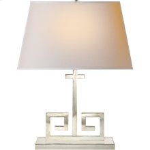 Visual Comfort AH3024PN-NP Alexa Hampton Kate 24 inch 60 watt Polished Nickel Decorative Table Lamp Portable Light