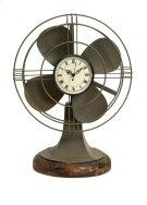 Thatcher Vintage Fan Clock Product Image