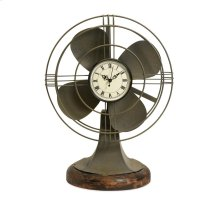 Thatcher Vintage Fan Clock