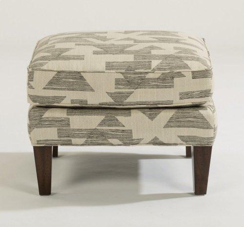 Ace Fabric Ottoman