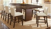 """Antonio Counter Table Top, 44""""x 70""""x88"""" w/18"""" Leaf Product Image"""
