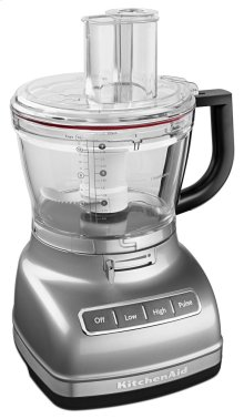 14-Cup Food Processor with Commercial-Style Dicing Kit - Contour Silver