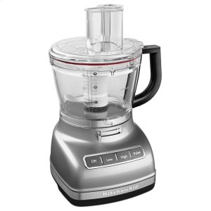 Kitchenaid14-Cup Food Processor with Commercial-Style Dicing Kit - Contour Silver
