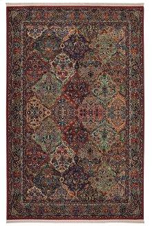 Multicolor Panel Kirman - Rectangle 4ft 3in x 6ft