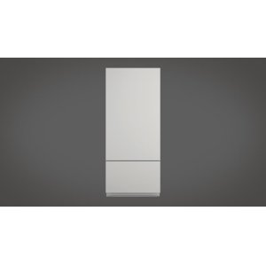 "Fulgor Milano36"" Built-in Fridge - Left Door - Overlay Panel"