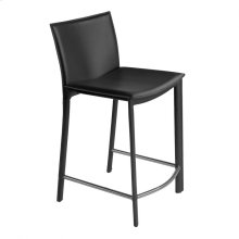 "Panca Counter Stool 26"" Black"