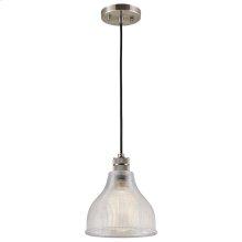Devin Collection Devin 1 Light Mini Pendant in CLP