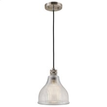 Devin Collection Devin 1 Light Mini Pendant in CLP