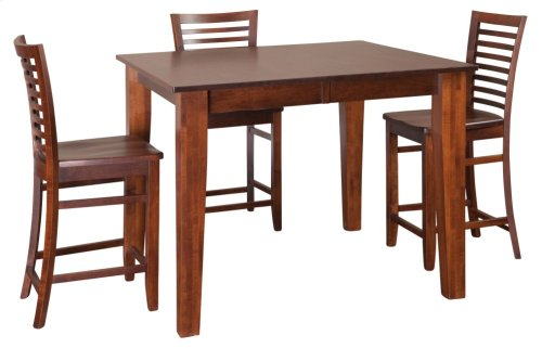 "48"" Square Large Tapered Legs Gathering Table"
