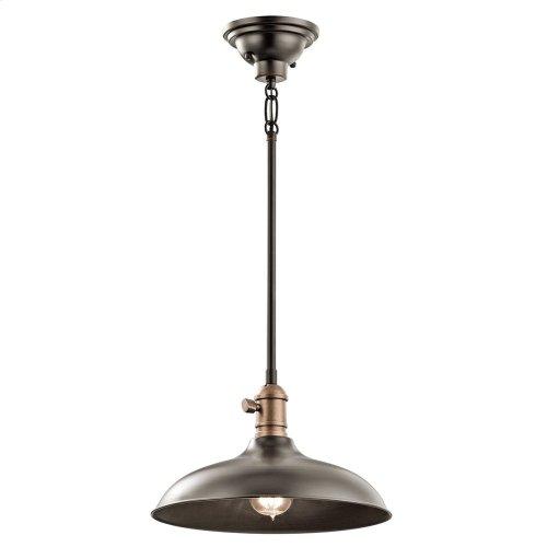 Cobson 1 Light Convertible Pendant Olde Bronze®
