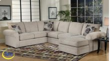 Ridge Chocolate / Mandarin Sectional