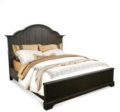 Bellagio Queen/King Bed Rails Weathered Worn Black finish