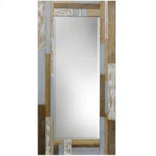 Wood Floor Mirror