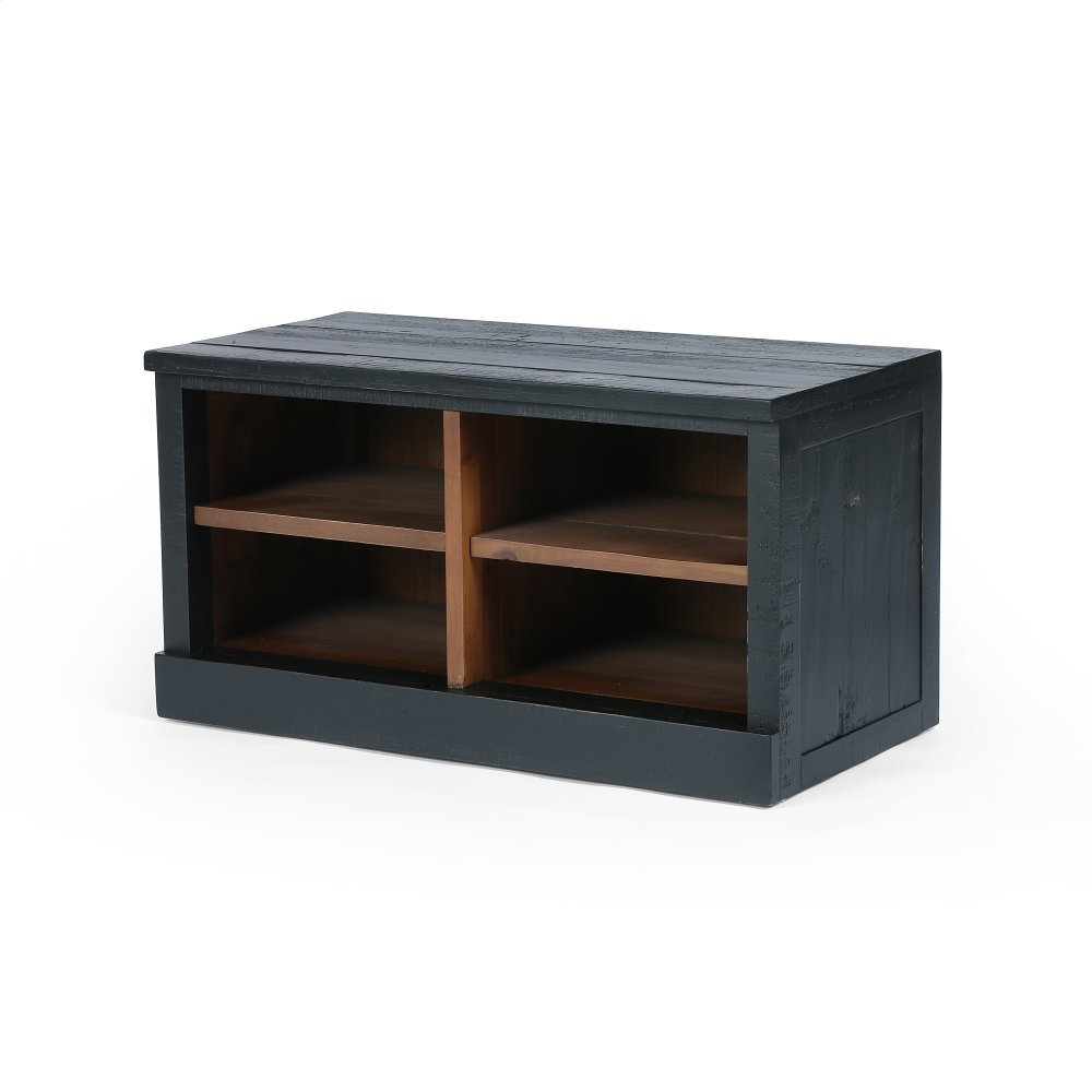 Gavin Entry Bench-matte Black