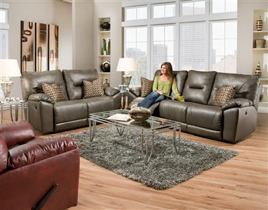 Hidden · Additional Double Reclining Sofa