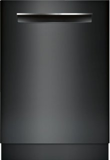 "500 Series 24"" Flush Handle Dishwasher 500 Series- Black SHP865WD6N"