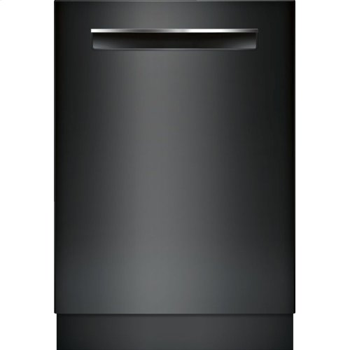 800 Series built-under dishwasher 24'' Black SHPM78W56N