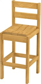 Bar Chair, Wood Product Image