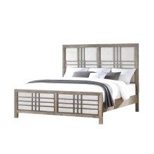 Emerald Home B562-10-k Briar Crest Queen Bed, Cappuccino Gray
