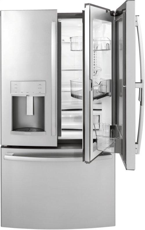 22.2 CU. FT. COUNTER-DEPTH FRENCH-DOOR REFRIGERATOR WITH DOOR IN DOOR AND HANDS-FREE AUTOFILL