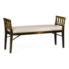 Back & Gilt Window Seat