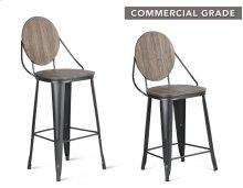 "Benjamin Counter Chair 19""x19""x40.5"