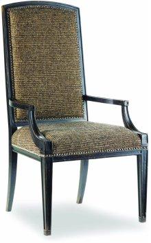 Sanctuary Mirage Arm Chair-Ebony