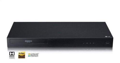 4K Ultra-HD Blu-ray Disc Player with Dolby Vision®